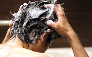 頭皮を清潔に